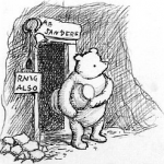 Original Winnie the Pooh drawing (1926)