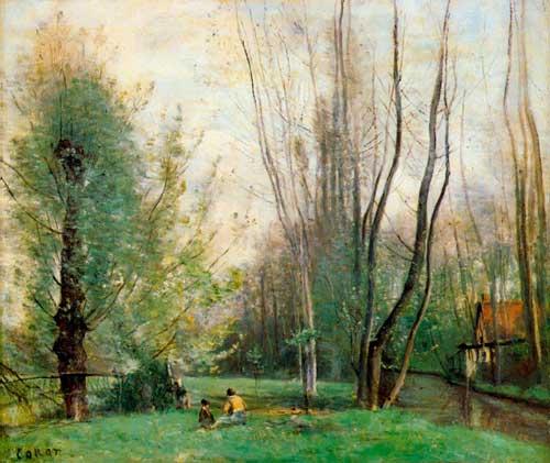 Jean Baptiste Camille Corot Landscapes