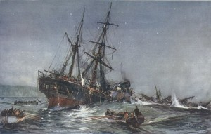 The Wreck of the HMS Birkenhead