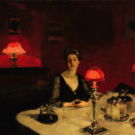 A Dinner Table at Night-John singer Sargent