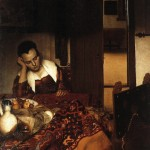 Asleep-Jan Johannes Vermeer