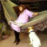 Attentive Companion, Elizabeth Adela Stanhope Forbes