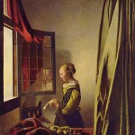 Girl Reading Letter-Jan Johannes Vermeer