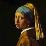 Girl with the Pearl Earrings-Jan Johannes Vermeer