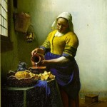 Milkmaid-Jan Johannes Vermeer