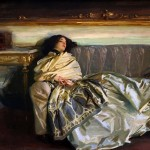 Nonchaloir or Repose-John singer Sargent