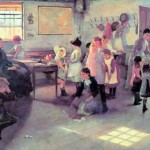 School-is-Out, Elizabeth Adela Stanhope Forbes