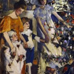 The-Christmas-Tree, Elizabeth Adela Stanhope Forbes
