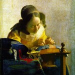 The Lacemaker-Jan Johannes Vermeer