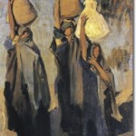 Three Arab Women-John singer Sargent