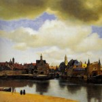 View Of Delft-Jan Johannes Vermeer