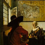 soldier-laughing-girl-Jan Johannes Vermeer