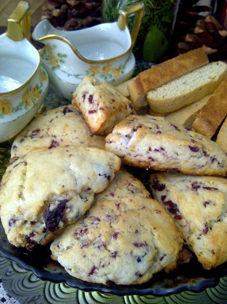 Biscotti and Scones