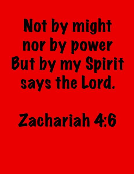 Zachariah 4 6